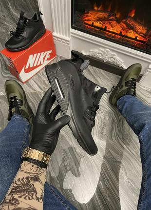 Мужские кроссовки 🔺nike air max 90 sneakerboot mid winter green🔺