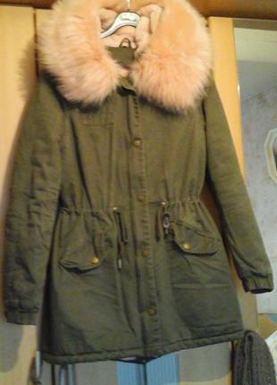 Куртка--  парка зимняя