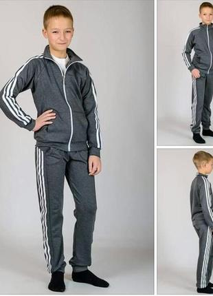 Классический спортивный костюм трикотажный-3 цвета рост 134,14...