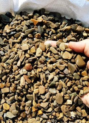 Галька речная мелкая. Галька мраморная. Камень декоративный