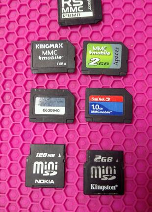 Карты памяти RS MMC MMC miniSD