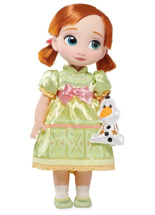 Кукла Анна Frozen из коллекции Disney Animators' Дисней оригинал