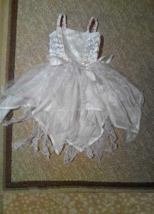 Карнавальный костюм Снежинка девочке 2 лет