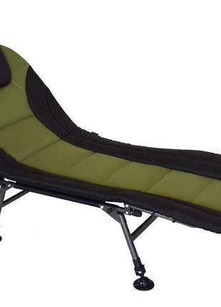 Раскладушка карповая кресло для рыбалки Novator R-1 Comfort га...