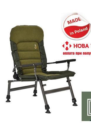 Кресло для рыбалки карповое FK6P POD Elektrostatyk Cuzo NEW
