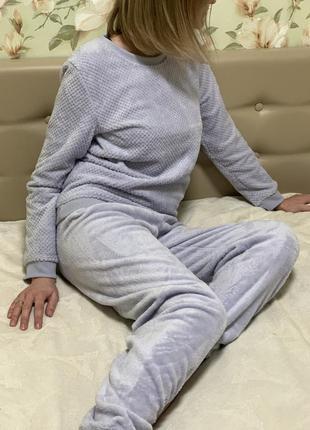 Флисовая пижамы/домашний костюм primark