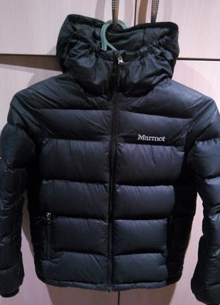 Куртка зимняя курточка пуховик Marmot Мармот на пуху