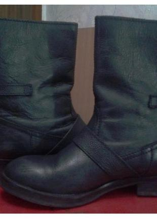 Ботинки из натуральной кожи pull&bear 37 размер