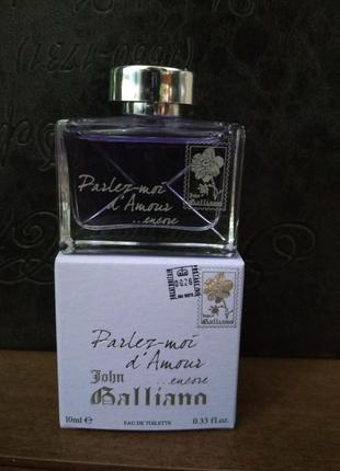 John galliano perlez-moi d'amour encore туалетная вода 10 мл