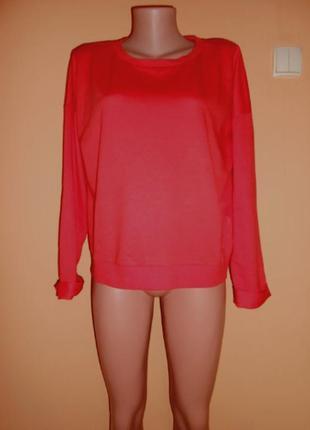 Красная кофта, свитер new look 16 размер