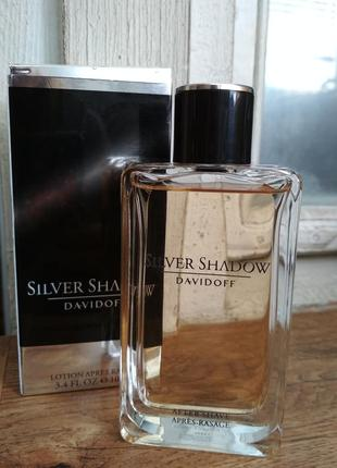 Оригинал! лосьон silver shadow davidoff 100 мл