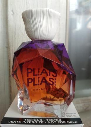 Оригинал! парфюмированная вода pleats please issey myake 100 мл