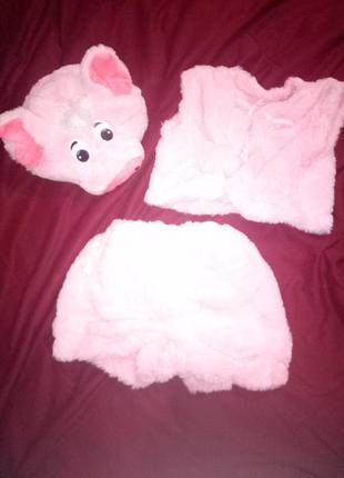 Карнавальный новогодний костюм свиньи