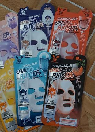 Оригинал. набор тканевых масок для лица от elizavecca корея