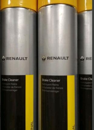 Очиститель Renault brake cleaner. Оригинал