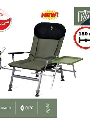 Кресло для рыбалки карповое с обвесом Elektrostatyk FK5P STP