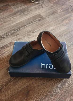 Детские кожаные туфли на мальчика