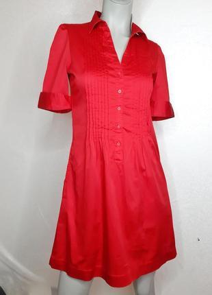 Натуральное платье рубашка h&m