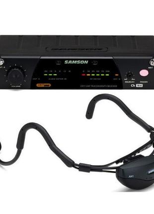 Радиомикрофон головной Samson SW77 Airline77 фитнес CH. N5-новый