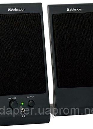 Колонки DEFENDER 2.0 SPK-165/SPK-170 4W, USB Black