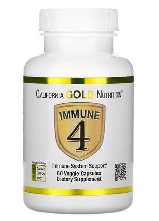 Иммунокомплекс Цинк, витамин Д и С, селен США iHerb