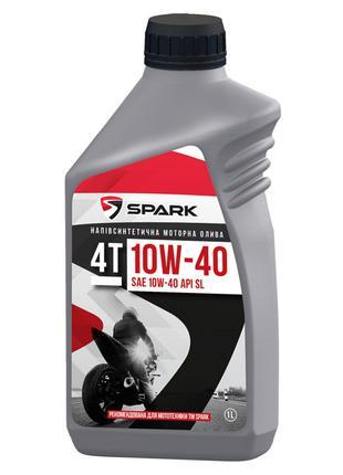 Масло для малых четырехтактных бенз. двигателях SPARK 4T 10W-40