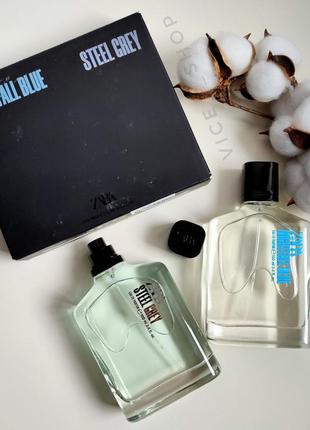 Zara nightfall blue steel grey духи парфюмерия туалетная вода ...