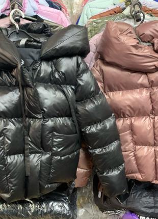 Куртка пуховик, женский пуховик, пуховик зима, укороченый пуховик