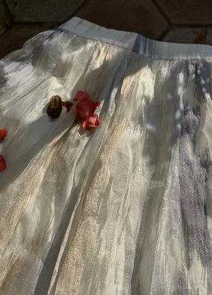 юбка из фатина.