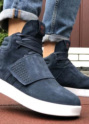 Кроссовки зимние Adidas Tubular мех