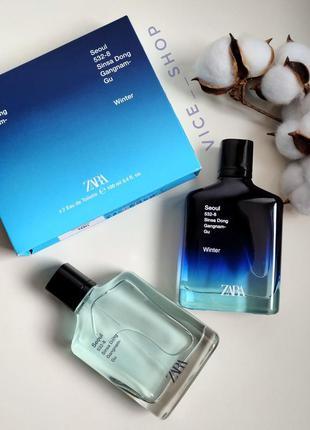 Zara seoul winter духи парфюмерия туалетная вода оригинал испания