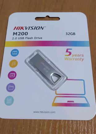 Флешка 32 ГБ GB HIKVISION 2.0 USB Flash Drive