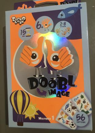 """Игра настольная """"Doobl Image"""" для веселой компании"""