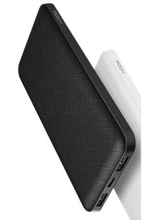 Зарядное устройство аккумулятор powerbank павербанк Rock P45 P100