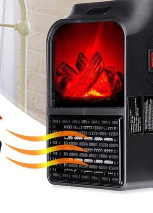Камин обогреватель настенный Flame Heater с пультом