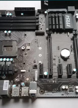 Материнская плата MSI B150 PC MATE, s1151