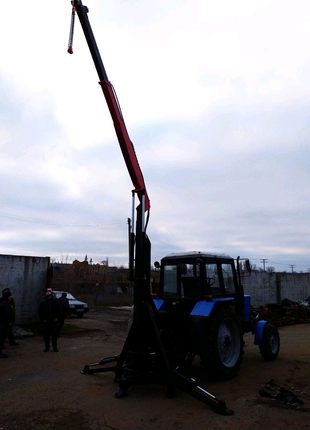 "Кран манипулятор к трактору ""HORS AGRO"""