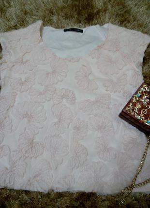 Модная фирменная блуза Зара