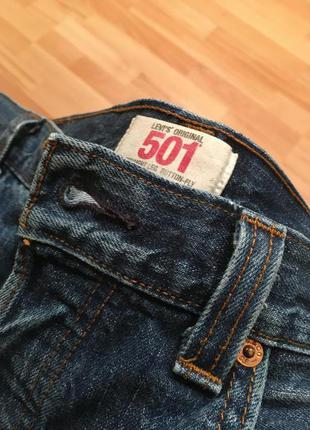 Мужские джинсы Levi's 501 W34 L34 оригинал levis левис левайс