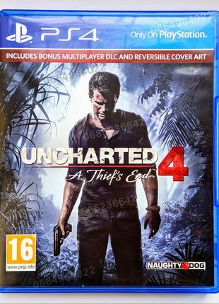 UNCHARTED 4 A Thief's End (Путь вора) PS4 диск | РУС версия