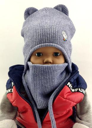 Детские головные уборы разные модели.
