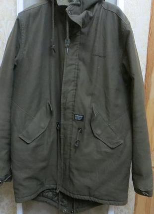 Мужская куртка - парка carhartt clash parka