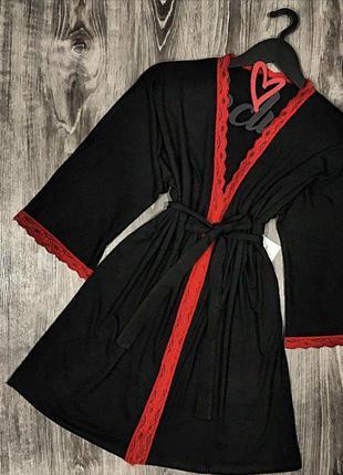 Новый женский халат из вискозы.