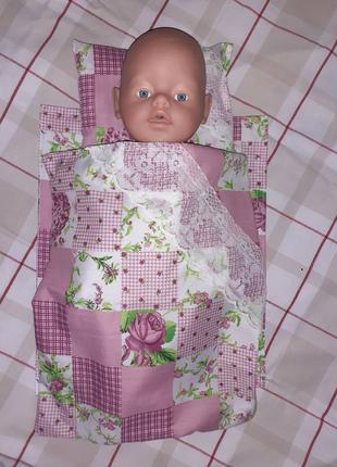 Комплекты постельного белья для кукол Беби Борн