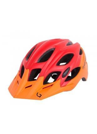 Шлем Green Cycle Enduro 58-61см оранжево-красный