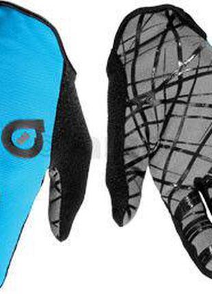 Перчатки 661 Red Glove длинный палец S голубые