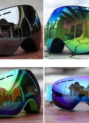 ЛИЖНА СНОУБОРД МАСКА очки лижні окуляри лыжна лижна горнолыжная