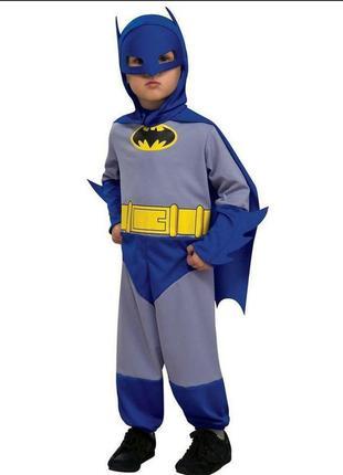 Карнавальный костюм детский бэтмен/batman на 1-2 годика
