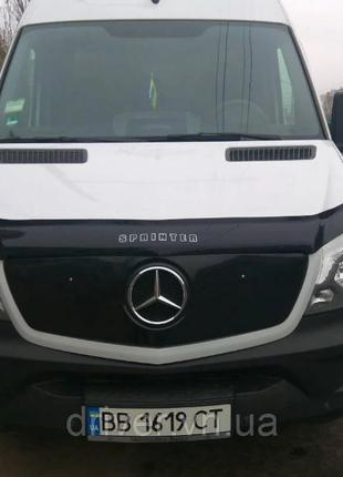 Mercedes Sprinter W906 2013- зимовий захист решітки радіатора,...