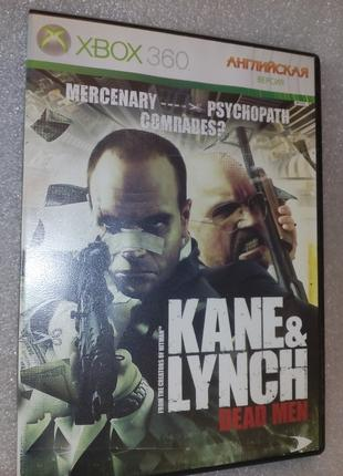 Xbox 360 игра Kane lynch dead men